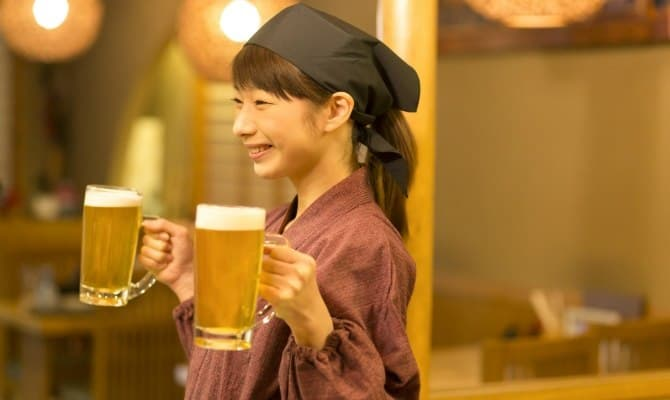 居酒屋のバイトが人気の理由イメージ2